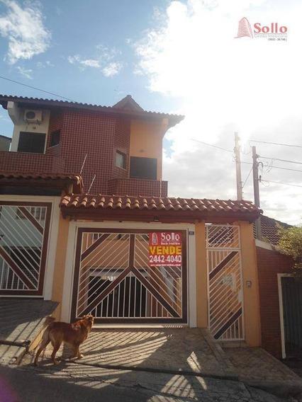 Sobrado Com 3 Dormitórios À Venda, 196m² - Vila Galvão - Guarulhos/sp - So0014
