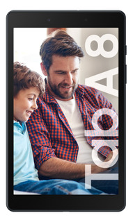 "Tablet Samsung Galaxy Tab A 2019 SM-T290 8"" 32GB negra con memoria RAM 2GB"