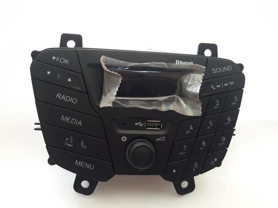 Som Radio Usb Bluetooth Original Ford Novo Ka 2015 - 2015