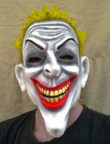Mascara Filme Coringa - Latex Super Luxo Original