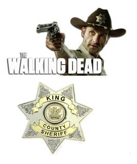 Insignia Sheriff Walking Dead Serie