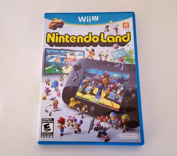 Nintendo Land Wii U Jogo Original Mídia Física Envio 12,00
