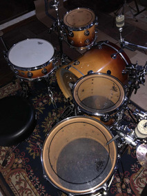 Bateria Dw Collectors Burnt Toast Fade 2001 Completa+pratos