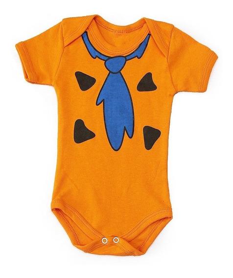 Body Bebê Fred Flinstone Flinstones Ball Infantil Fantasia