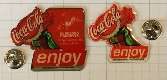 2 Pins Raros - Coca Cola - Originais - Importados - Co06