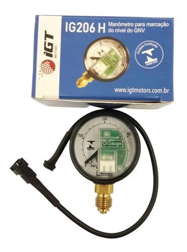 Manômetro De Pressão Igt Ig206