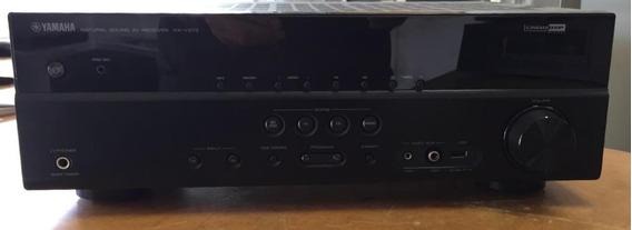 Placa E Painel Frontal Completo Do Receiver Yamaha Rx-v373