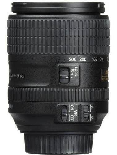 Lente Profissional Nikon Dx 18-300mm F/3.5-6.3g Ed Vr