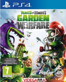 Plants Vs Zombies Garden Warfare - Playstation 4 Ps4 | Vgm