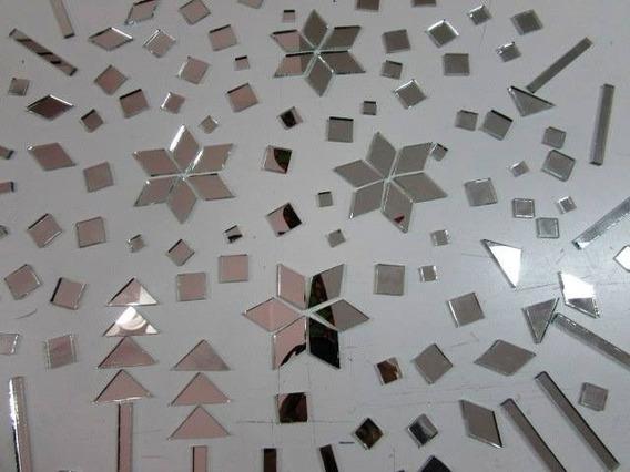 Espejitos Para Mosaiquismo: Rombos 40 X 23 Mm X 100u.