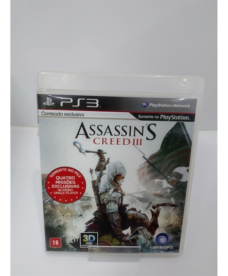 Assassins Creed Iii (seminovo) - Ps3