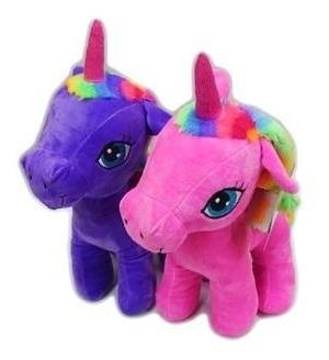 Pony De Peluche De 37cm