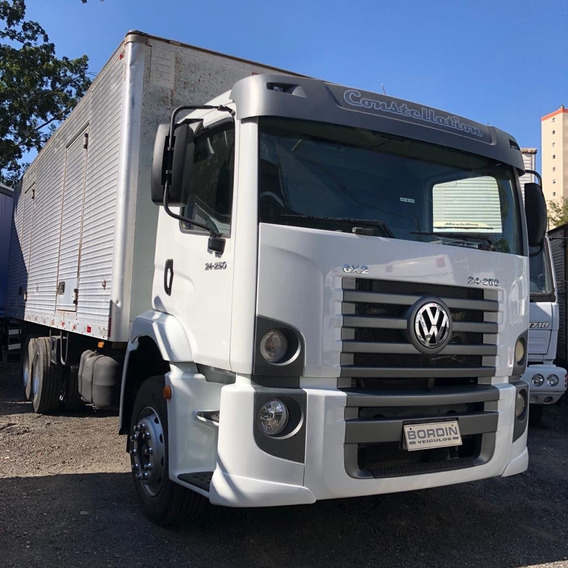 Vw 24-250 Constelation Truck Baú 8 Mts Ano 2009