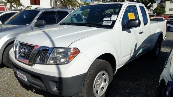 Nissan Frontier 4x2 Ex Cabina Y Media Blanca 2012