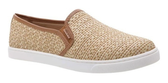 Tênis Slip On Anacapri Palha Natural #162