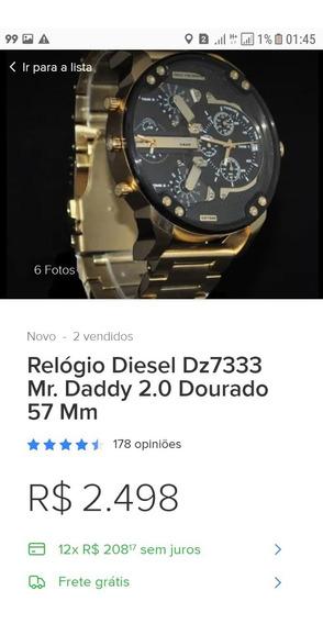 Relogio Novo Diesel Otimo Preco