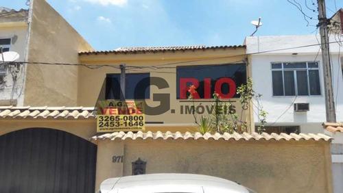 Casa De Rua-à Venda-jardim Sulacap-rio De Janeiro - Vvca40038