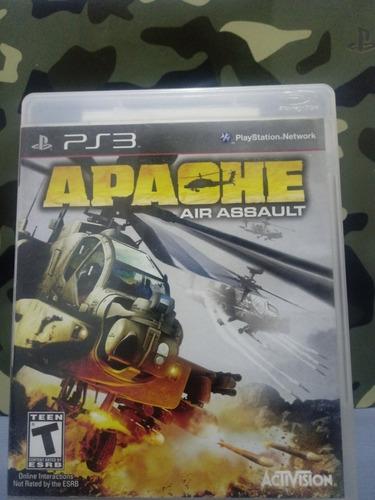 Apache Air Assault  Ps3 Fisico Z/lomas De Zamora Envios