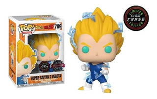 Funko Pop! Dragon Ball Z Super Saiyan 2 Vegeta Chase 709