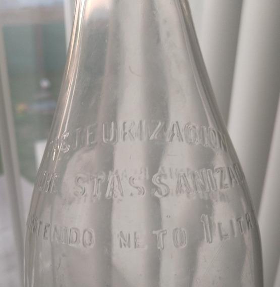 Antigua Botella De Leche Tambos Y Ganados Ltd Bahía Blanca