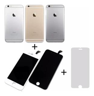 Frontal Tela + Carcaça iPhone 6 Plus 5.5 A1522, A1524 +pelíc