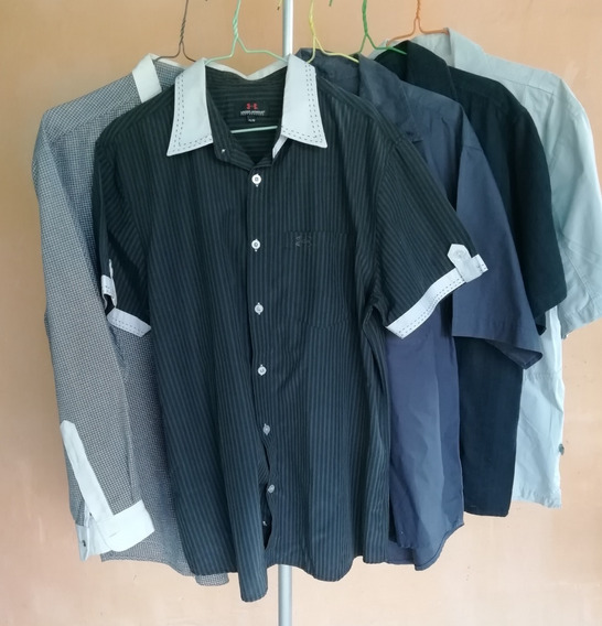 Camisas Para Caballero Talla M Usadas Prácticamente Nuevas