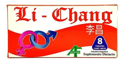 Imagen 1 de 7 de Li Chang X 4 Capsulas - Vigorizante Masculino.