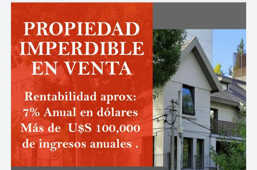 Inversores O Empresa.  Excelente Y Moderna Casona!!