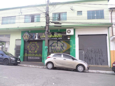 Salão Para Alugar, 48 M² Por R$ 1.300/mês - Centro - Suzano/sp - Sl0067
