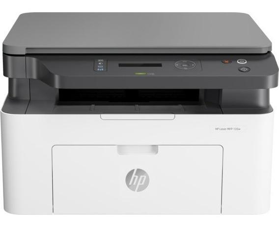 Impresora Laser Hp Multifuncional 135w Monocro. ( 195 Trump)
