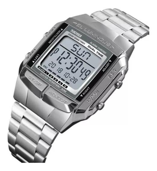 Relógio De Pulso Masculino Marca Skmei Modelo 1381 Quartzo