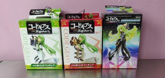 3 Figuras Banpresto Code Geass C.c. Anime