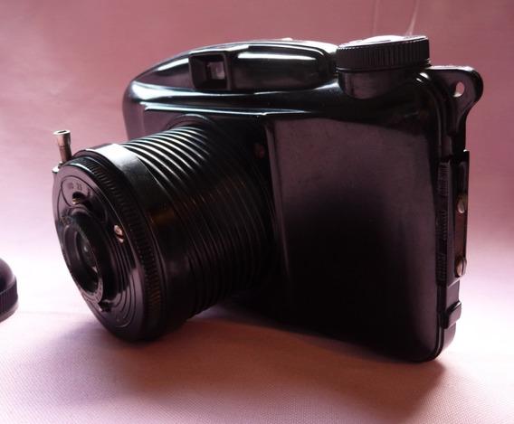 Camera Photax Boyer 1951 Funcionando Lente Limpa 6x9 Rara