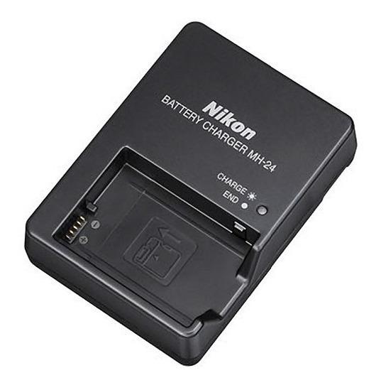 Carregador Nikon Mh-24 Para En-el14 D5100 D3100 D3200...