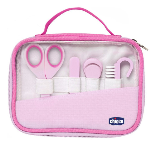 Set Higiene Manos Bebe Chicco Tijera Limas Alicate Cepillo