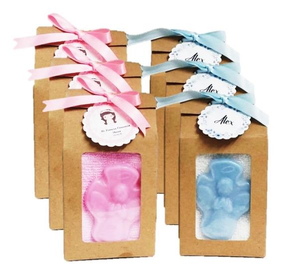 Kit Caja Craft+toalla Facial+ Jabòn Glicerina Personalizados
