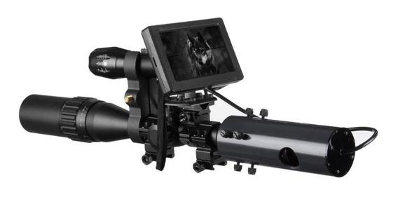 Visao Noturna Infravermelho 200m Caça Riflescope + Baterias