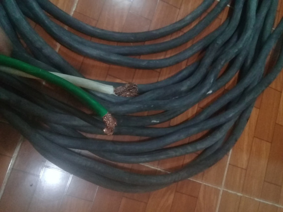 Cable Uso Rudo 3x6 39.74 Metros De Largo.