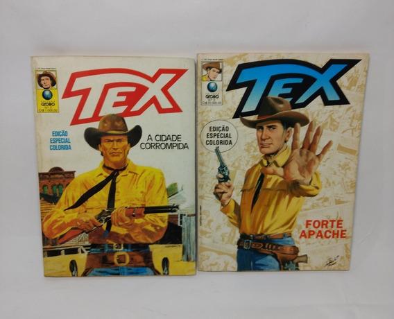 Tex Edição Especial Colorida Nº 2 E Nº 3
