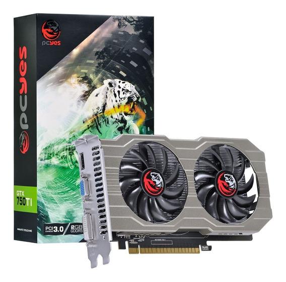 Placa De Video Nvidia Geforce Gtx 750 Ti 2gb Gddr5 128 Bits Dual-fan