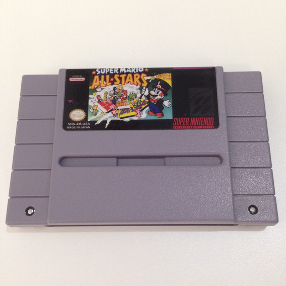 Super Mario All Stars Original Relabel - Super Nintendo