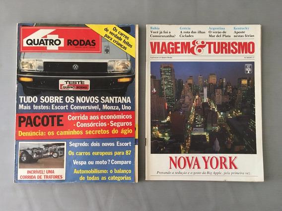 Revista Quatro Rodas - Dezembro 1986 - Nº 317 Santana
