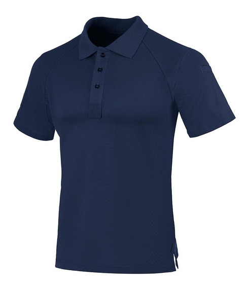 Camisa Polo Control Invictus Azul Aviator