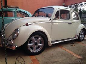 Volkswagen Vw Fusca Branco Lótus 1300 1970