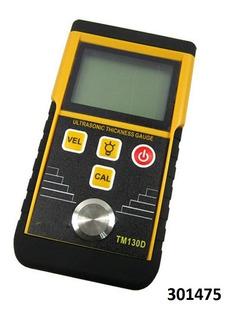 Medidor Tester Digital Tm130d Espesor Acero Ultrasonico W01