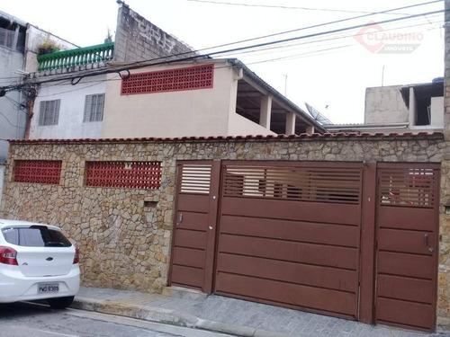 Casa Com 2 Dormitórios Para Alugar, 80 M² Por R$ 2.000,00/mês - Vila Antonieta - São Paulo/sp - Ca1011