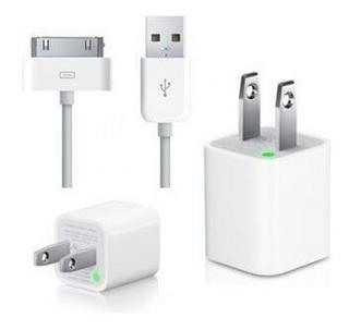 Cargador Apple iPhone 4 4s Taco + Cable Tienda