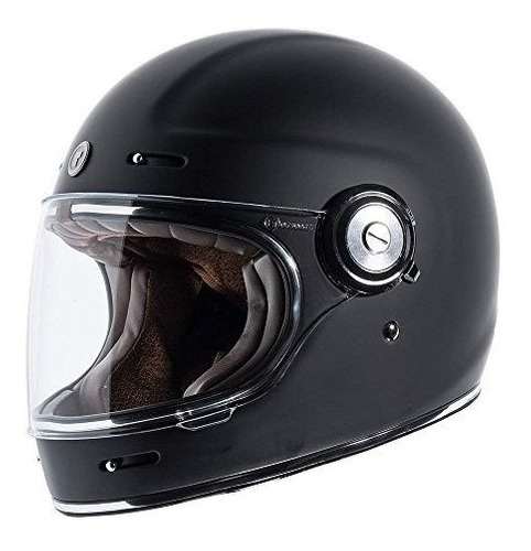 Imagen 1 de 4 de Torc T1 Retro Casco De Moto Estilo Casco Unisex Para Adultos