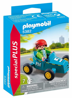 Playmobil Niño Con Karting 5382 Special Plus Figura Educando