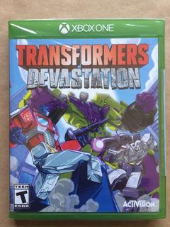 Transformers Devastation Xbox One. Nuevo Sellado. Envíos